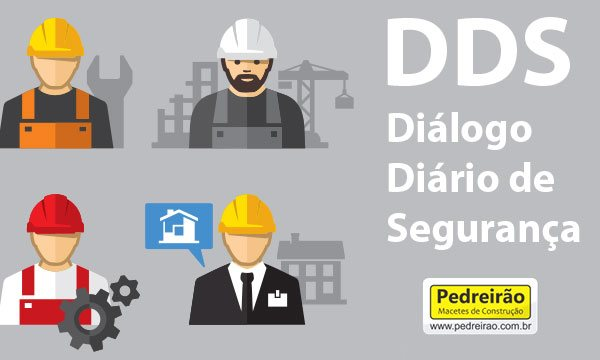 DDS  Diálogo Diário de Segurança, Passo a Passo! - Pedreirão d3badc13af