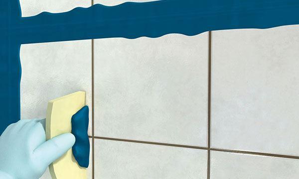 Como rejuntar cer micas e azulejos passo a passo pedreir o for Como colocar azulejo
