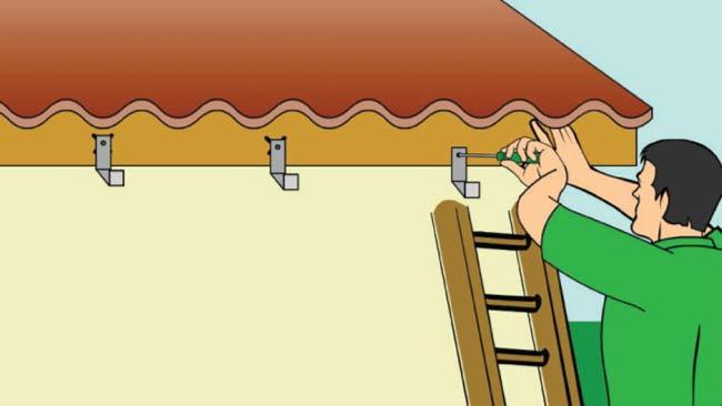 montar-suporte-calha-telhado-pedreirao