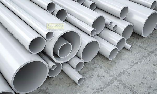 Tipos de tubos pvc cpvc ppr pex pvc esgoto pedreir o for Tubo pvc translucido