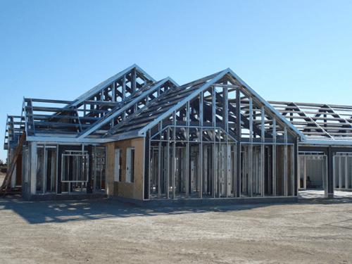 Steel frame vantagens e desvantagens aprenda agora - Casas steel framing ...