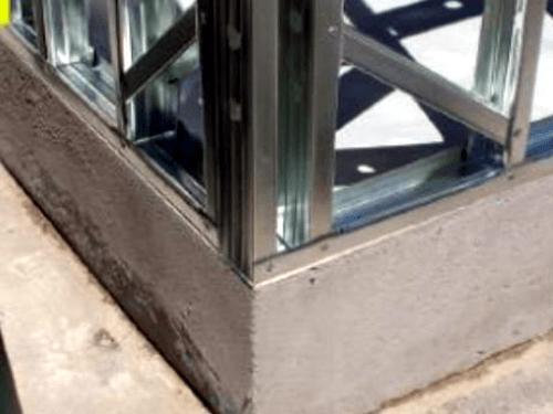 Steel Frame Fundacao Radier