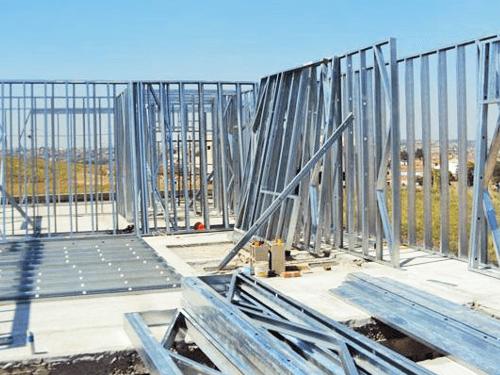 Steel Frame Montagem Guias Esqueleto Pedreirao