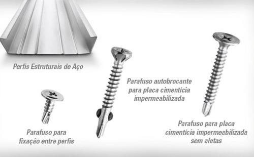 Steel Frame Parafusos