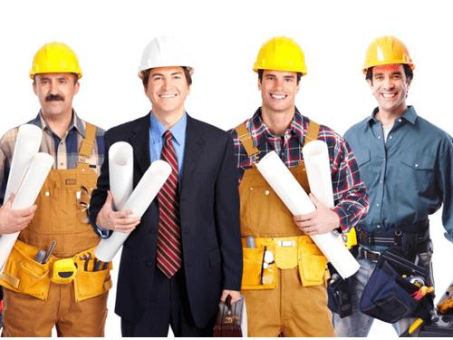 Equipe Obra Construcao Pedreirao